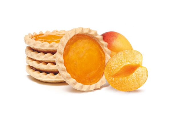 Apricot biscuit
