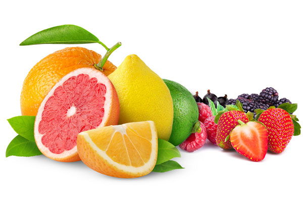 Citrus fruits – Red fruits