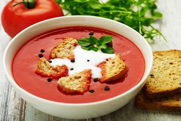 Tomates, mascarpone & basilic