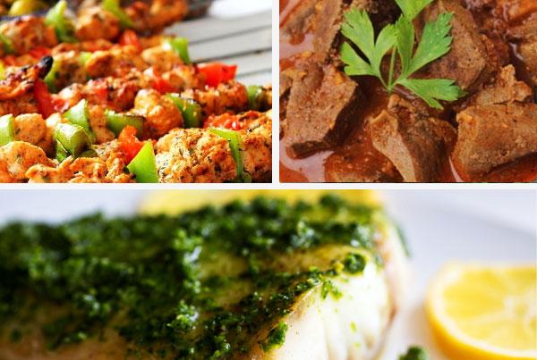 Moroccan Chermoula: Chicken, Fish, Liver