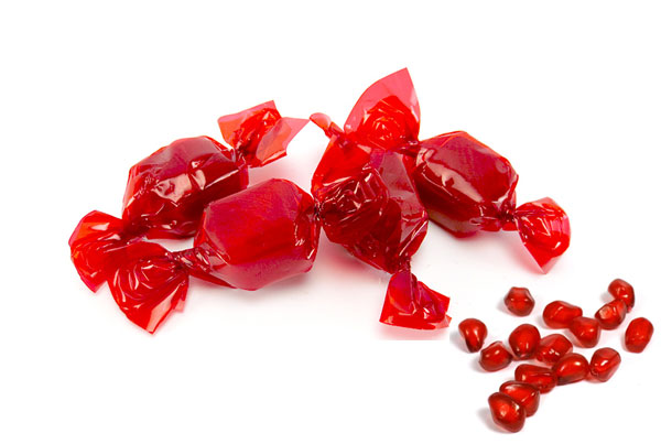 Grenadine candy